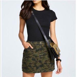 NWT Rebecca Minkoff Army Skirt